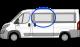 Fiat Ducato/ Peugeot Boxer/ Citroen Relay N/S/F Sliding Window MWB/LWB/XLWB W037