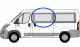 Fiat Ducato/Peugeot Boxer/Citreon Relay N/S/F Fixed  (MWB/LWB/XLWB) W042