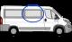 Fiat Ducato/Peugeot Boxer/Citroen Relay O/S/F Fixed MWB/LWB/XLWB W043