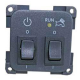 CBE 12v + Pump Switch with LED 200288