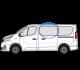 Trafic/Vivaro X82 (2014 >) N/S/F Fixed Window in Privacy Tint w0622