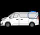 Trafic/Vivaro X82 (2014 >) O/S/R (Rear) Fixed Window in Privacy Tint SWB w061