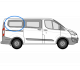 Ford Transit Custom O/S/R Fixed Window in Privacy Tint (SWB) W204