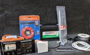 Complete 230v and 12v Electrical  Installation Kit