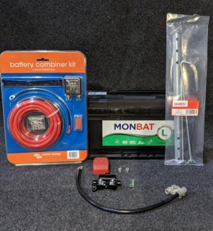 Leisure Battery Installation Kit