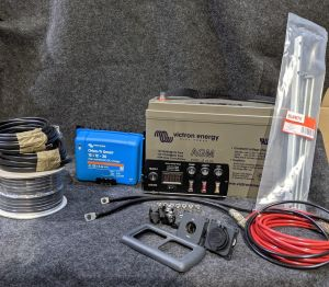 Euro 6 Leisure Battery and Basic 12v Installation kit